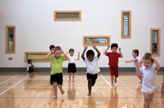 ©Leigh Simpson The hall in use at the Willows School
